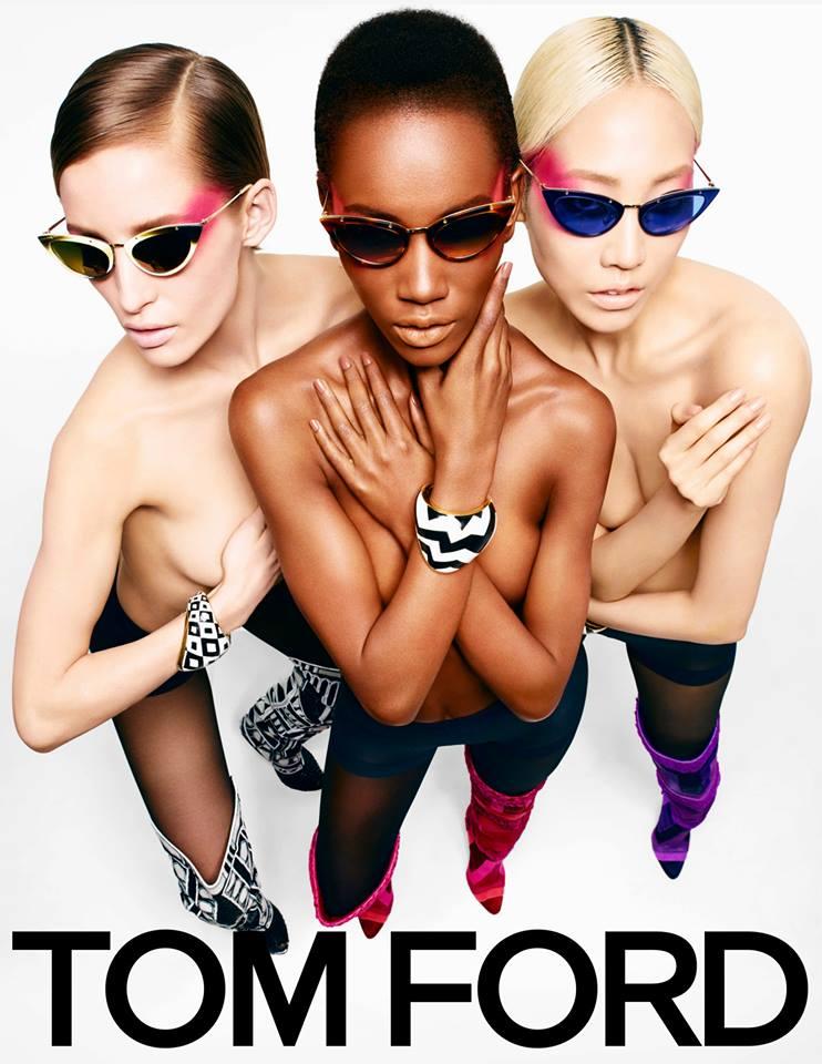 Autumn/Winter 2013 TOM FORD campaign, Aicha Refoufi, Herieth Paul , Soo Joo, Zuzanna Bijoch, Juan Bettancourt, Oli Tyler, Conrad Bromfied, mens fashion, ready-to-wear, eyewear campaigns