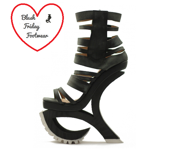 Featured Friday Footwear, Fashionista Find, Fashion, Style, Jeffrey Campbell, Tilted Sole, Heels