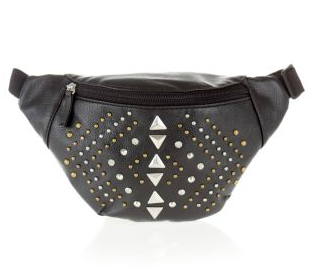 Black Stud Bum Bag $16.99