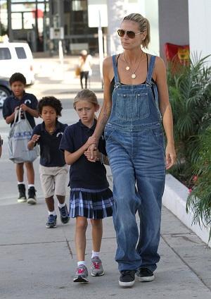 Heidi Klum, Overalls, Fashion, Trend Alert, Denim