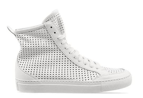 MM6 Maison Martin Margiela, Margiela, Perforated High Top Sneaker, High Tops