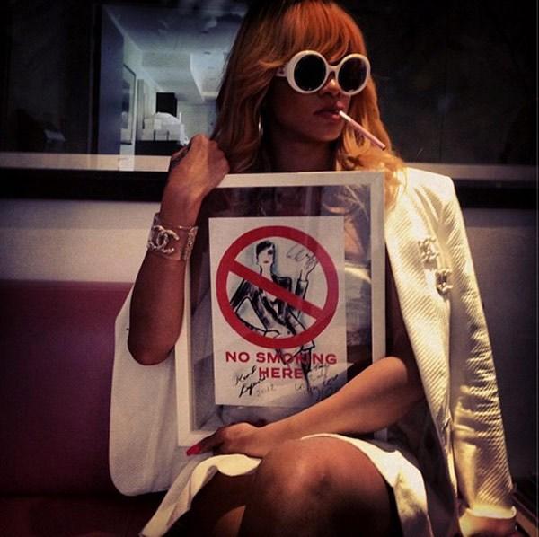 Rihanna in Paris 2