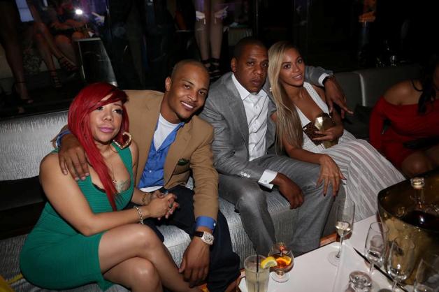 Tiny, T.I. , Jay Z , Beyonce